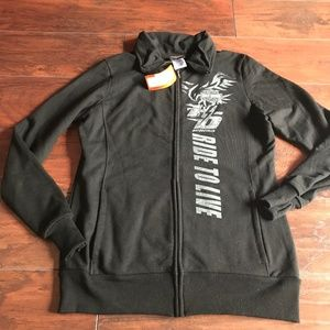 HARLEY DAVIDSON ZIP FRONT JACKET IN SIZE SMALL-NWT